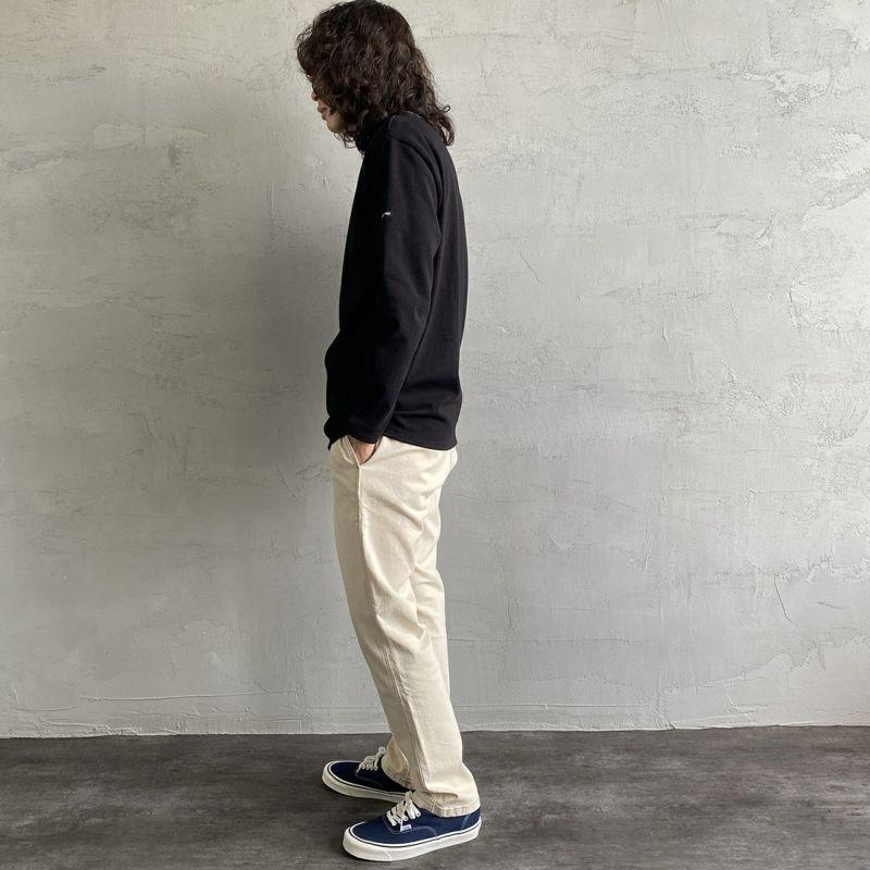 ST.JAMES [セントジェームス] バスクロングスリーブTシャツ [OUESSANT-SD] NOIR