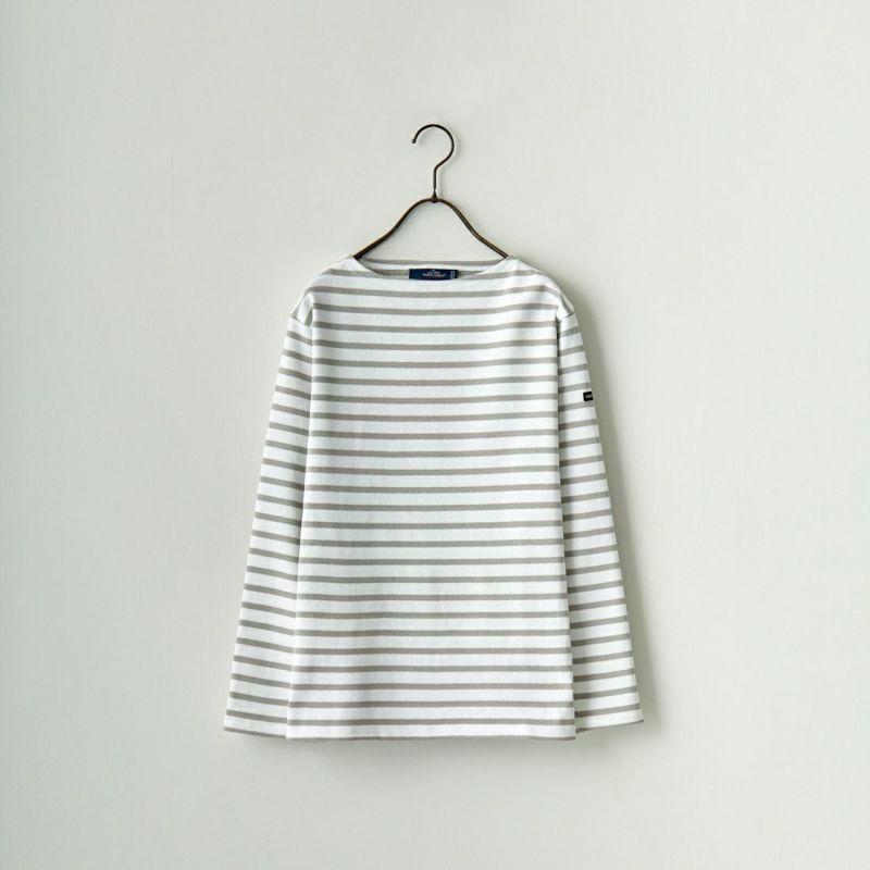 ST.JAMES [セントジェームス] バスクボーダー ロングスリーブTシャツ(LADYS) [OUESSANT] NEI/GIT