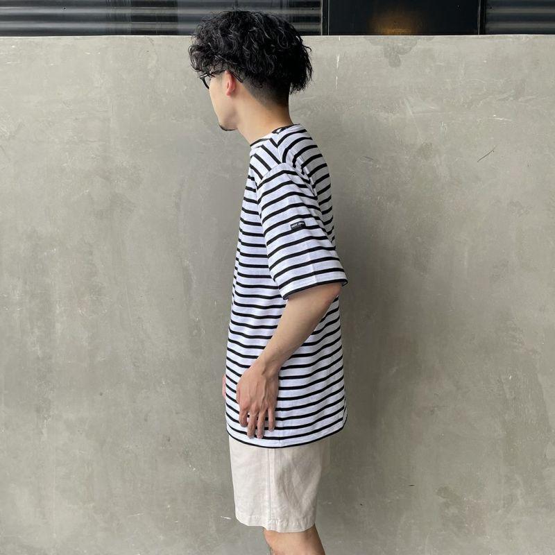 ST.JAMES [セントジェームス] ボーダーTシャツ [PIRIAC] MAR/NEI