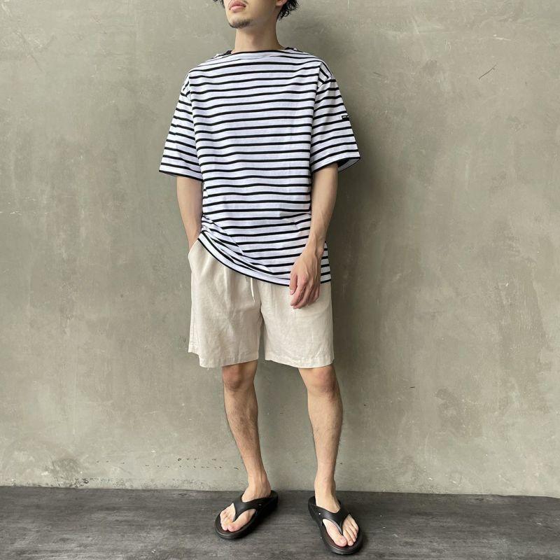 ST.JAMES [セントジェームス] ボーダーTシャツ [PIRIAC] NEI/MAR