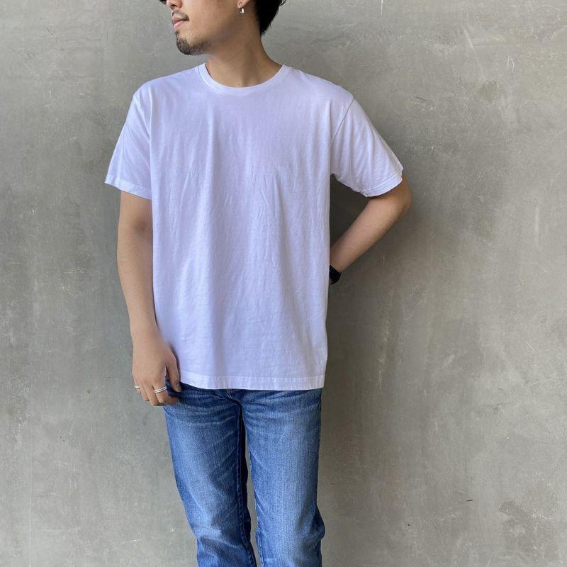 010 ホワイト&&モデル身長:170cm 着用サイズ:L&&
