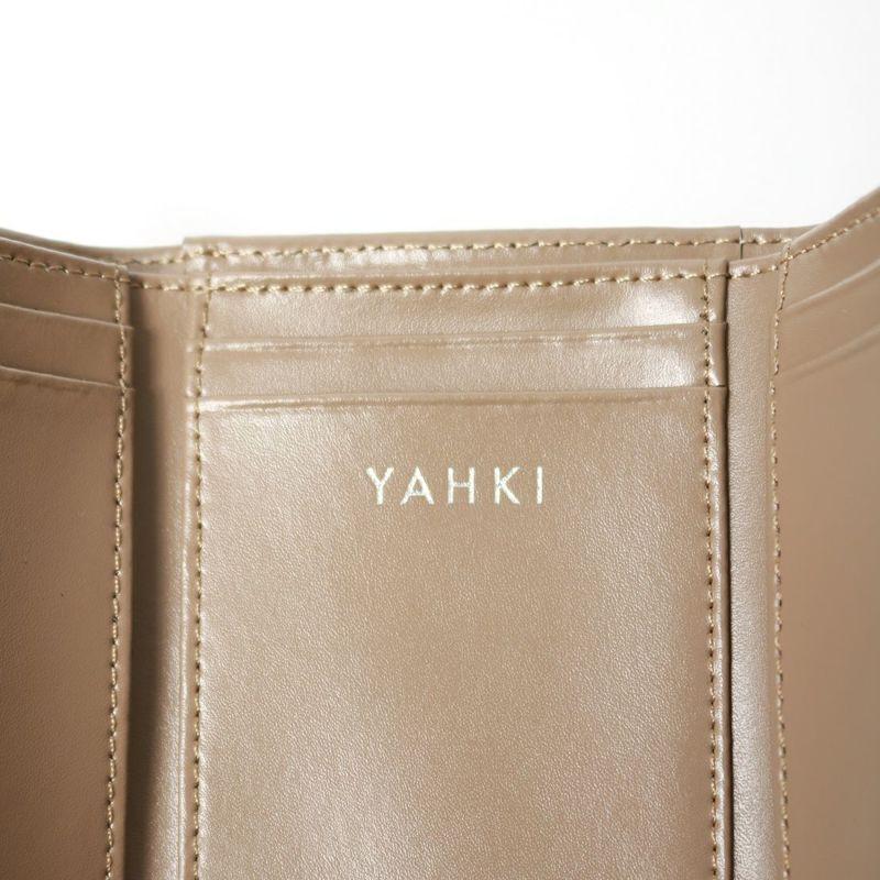 YAHKI [ヤーキ] スムースウォレット [YH-207] GREIGE