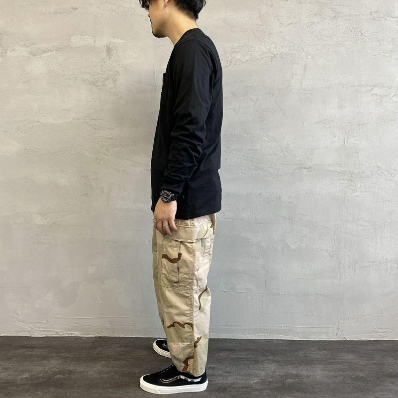 carhartt WIP [カーハートダブリューアイピー] ポケットTシャツ [I022094] 0200 WHITE &&モデル身長:163cm 着用サイズ:L&&