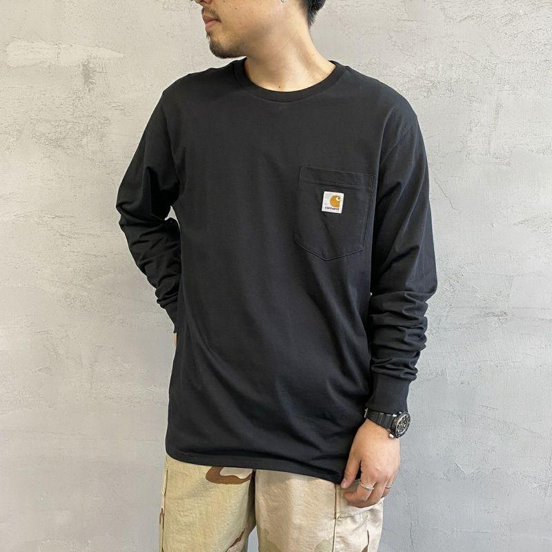 carhartt WIP [カーハートダブリューアイピー] ポケットTシャツ [I022094] 8900 BLACK