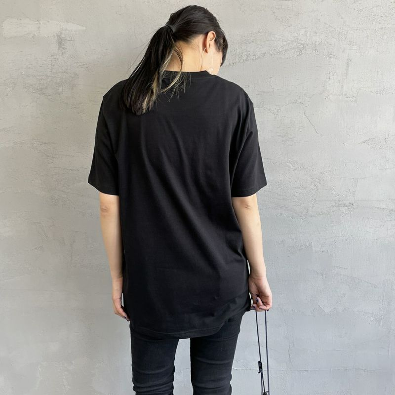 carhartt WIP [カーハートダブリューアイピー] ポケットTシャツ [I022091] 8900 BLACK &&モデル身長:156cm 着用サイズ:XS&&
