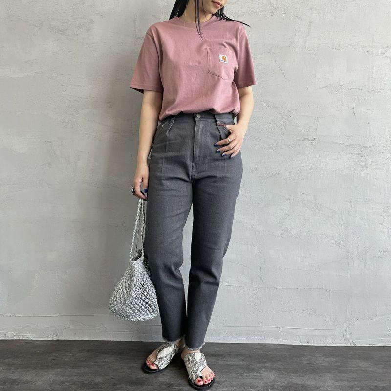 carhartt WIP [カーハートダブリューアイピー] ポケットTシャツ [I022091] 66700 DOLL &&モデル身長:160cm 着用サイズ:XS&&