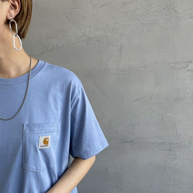 carhartt WIP [カーハートダブリューアイピー] ポケットTシャツ [I022091] 0200 WHITE