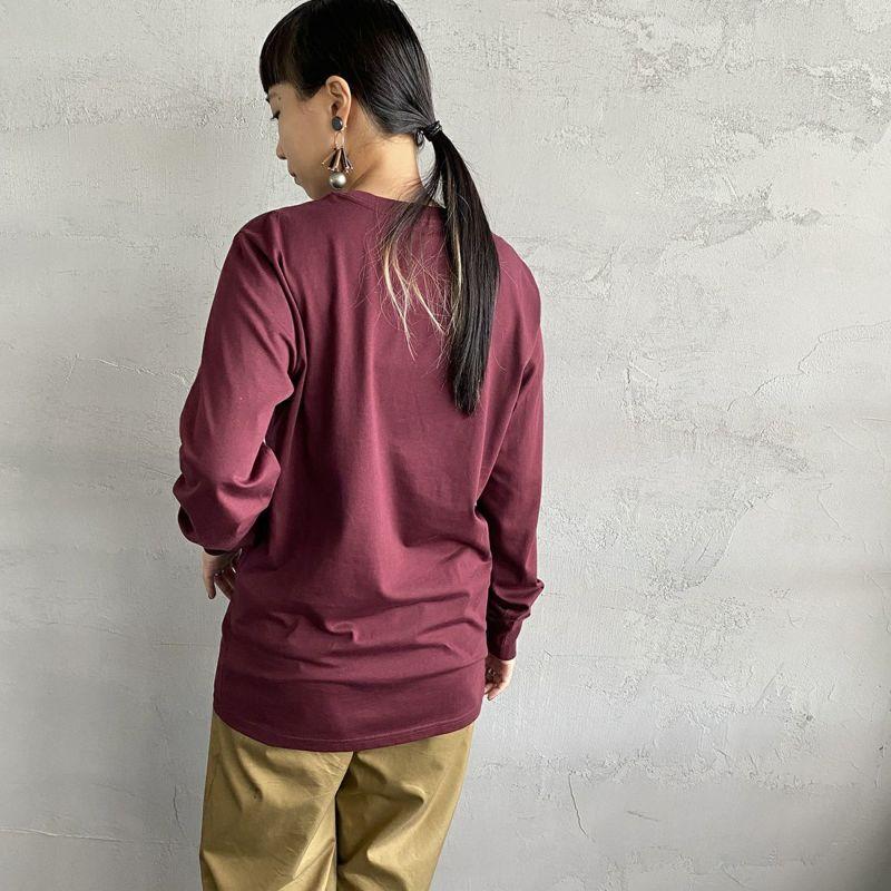 carhartt WIP [カーハートダブリューアイピー] ポケットTシャツ [I022094] 8900 BLACK&&モデル身長:156cm 着用サイズ:S&&