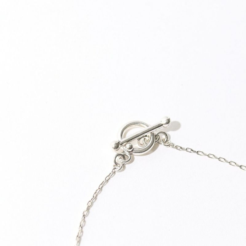 PHILIPPE AUDIBERT [フィリップ オーディベール] COLLIER BARRE RONDE PM LATION ネックレス [CO4773] SILVER