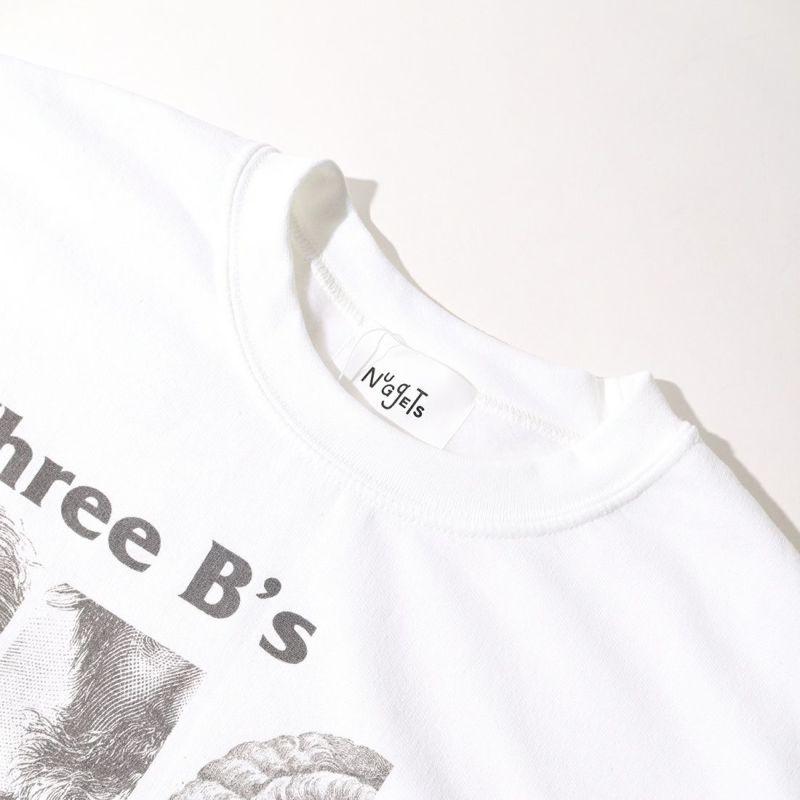 NuGgETS [ナゲッツ] 3BS+1 スウェット [NUG0321ASW01] WHITE