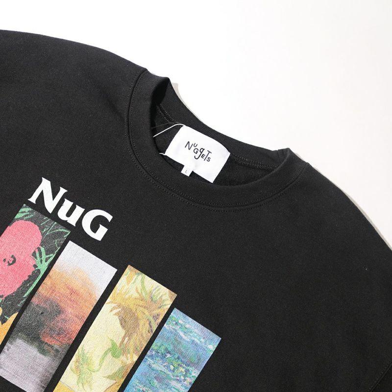 NuGgETS [ナゲッツ] 4花 スウェット [NUG0321ASW03] BLACK