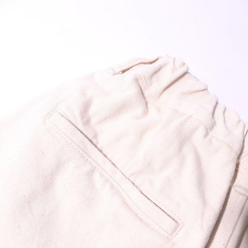 Jeans Factory Clothes [ジーンズファクトリークローズ] スタンダードタックテーパードパンツ [JFC-212-020] 68 OFF WHT
