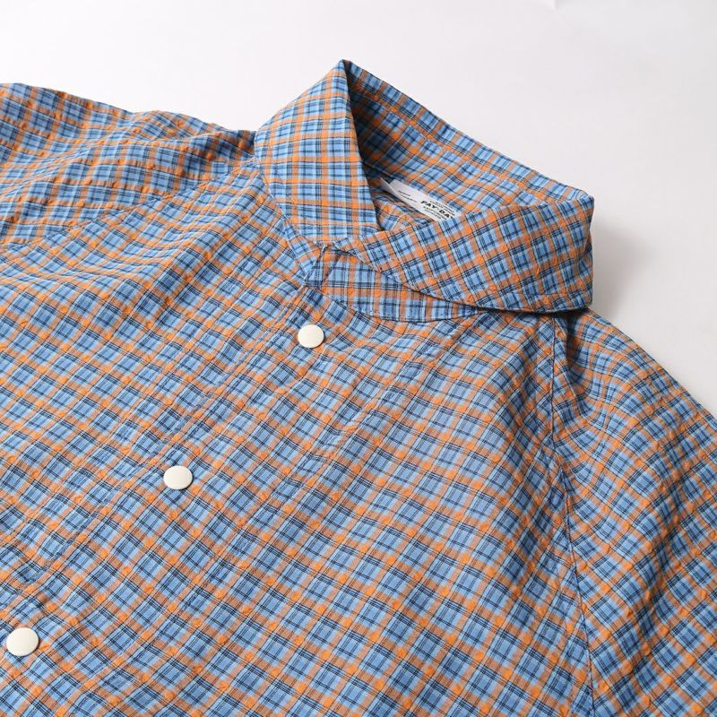PAY DAY [ペイデイ] 別注 ショールカラーシャツジャケット [PD-21SS-IN-CA001] BLU CHECK