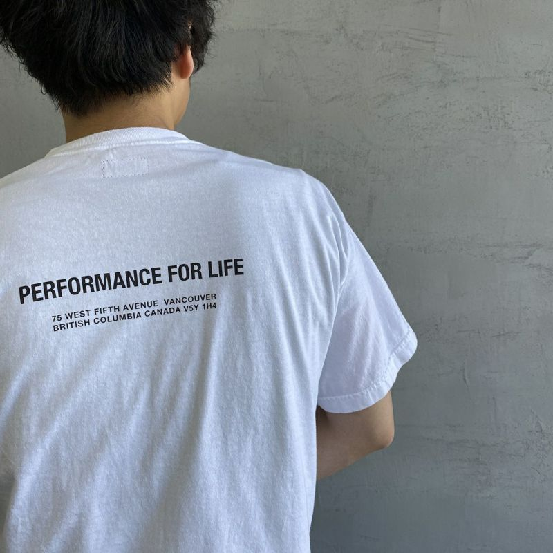 ALTUS Mountain Gear [アルタスマウンテンギア] 別注 ランダムロゴプリントTシャツ [AT-21SS-IN-SS010] WHITE