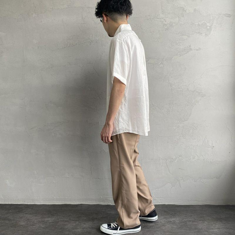 DANTON [ダントン] リネンクロスシャツ [JD-3569KLS] BEIGE