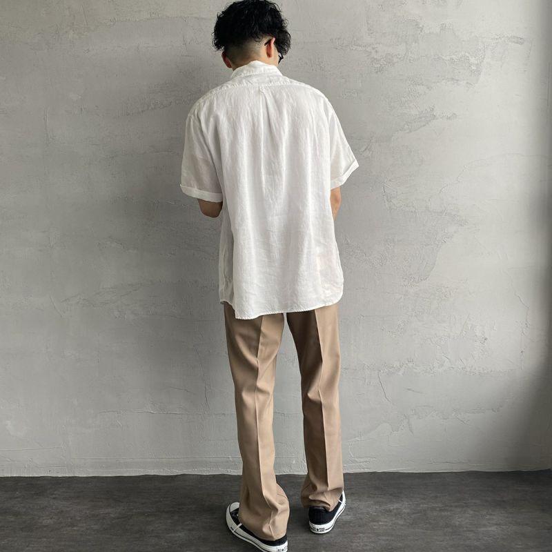 DANTON [ダントン] リネンクロスシャツ [JD-3569KLS] NEW NAVY