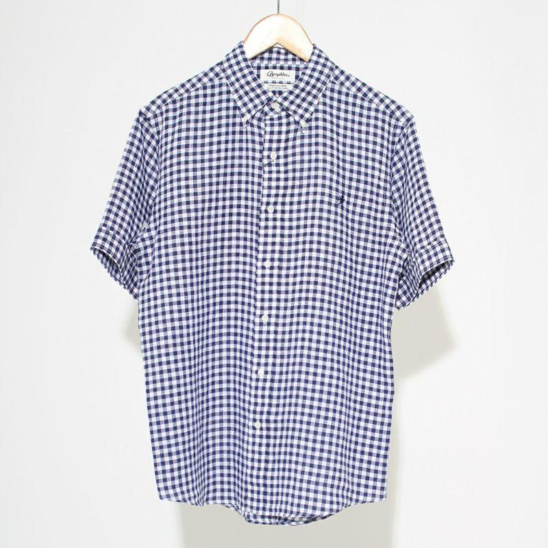 ジムフレックス リネンストライプシャツ [J-1421LNP]