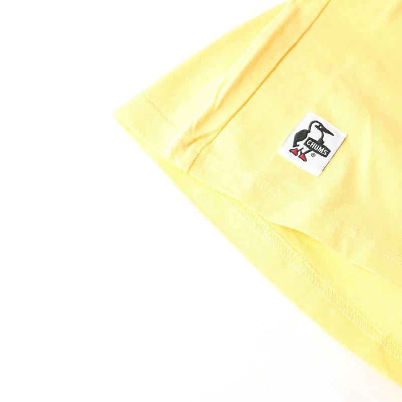 CHUMS [チャムス] キッズ ブービー ペインティング ポケット Tシャツ [CH21-1185] Y057 YOLKY