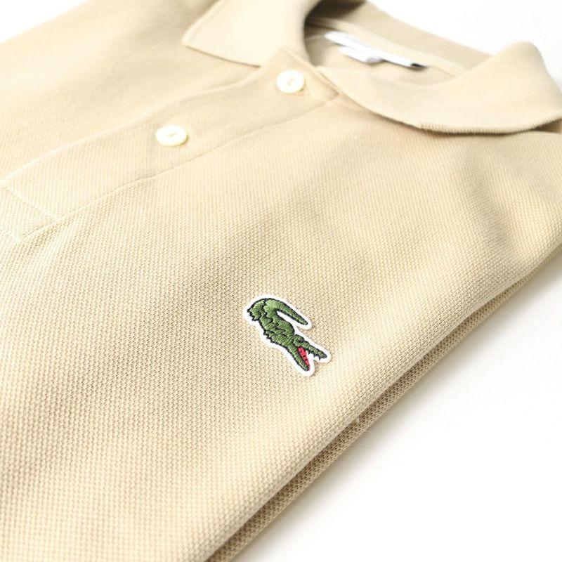 LACOSTE [ラコステ] クラシックフィットポロシャツ [L1212AL] 02S BEIGE