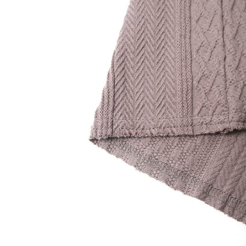 HELLO CALIF [ハローカリフ] ジャガードフリンジTシャツ [HC-212-027] SUMIKURO