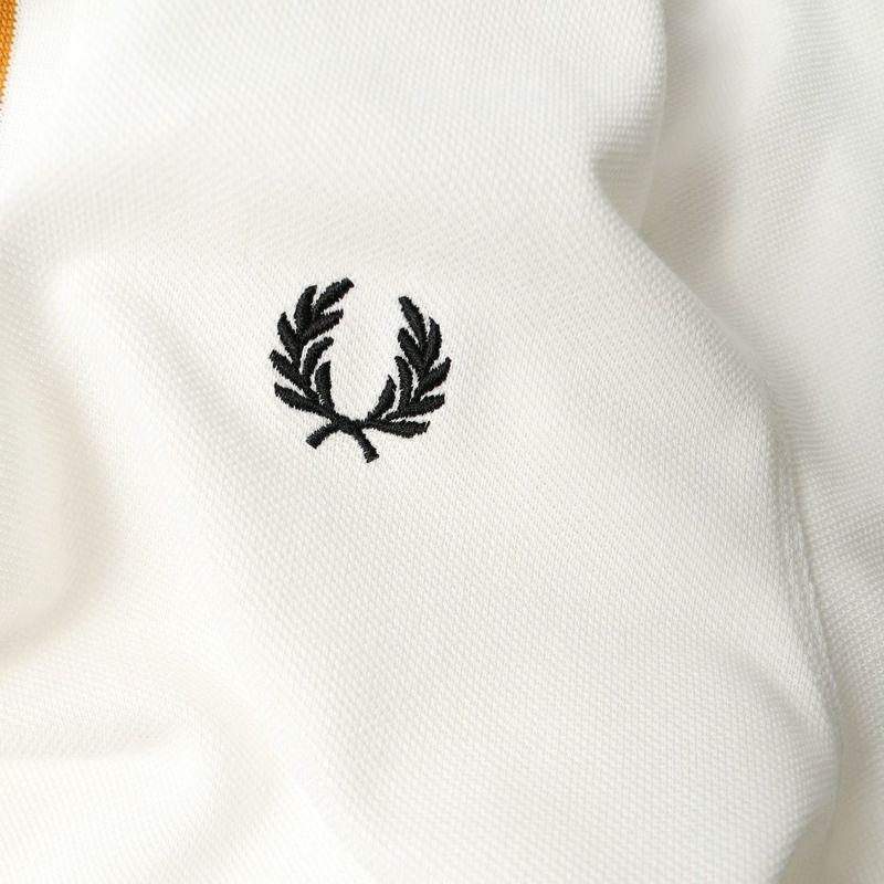 FRED PERRY [フレッドペリー] ティップドプラケットポロシャツ [M8559] 303 SNOW W