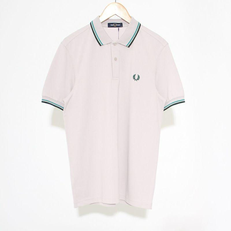 FRED PERRY [フレッドペリー] フレッドペリーシャツ [M3600] J10 CHALKY&&モデル身長:173cm 着用サイズ:M&&
