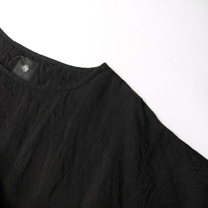 maison de soil [メゾンドソイル] ショートスリーブプルオーバードレス [INMDS21003] 9981 BLACK