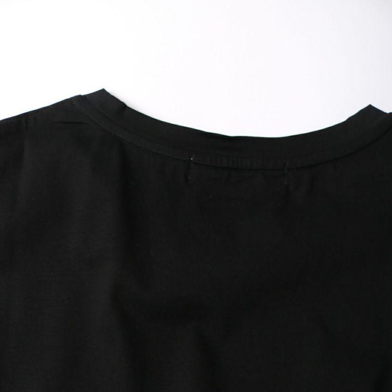 ALLUMER [アリュメール] クルーネックスリーブレスチュニック [8241411] 700 BLACK