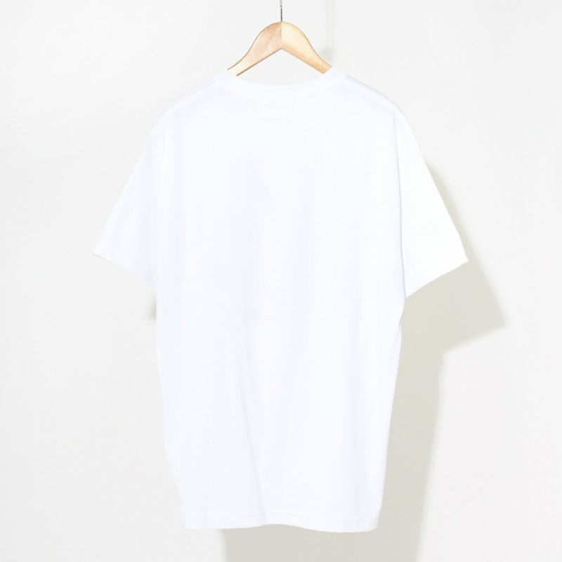 NuGgETS [ナゲッツ] MANGA POD ショートスリーブTシャツ [NUG0321AT02] WHITE/W