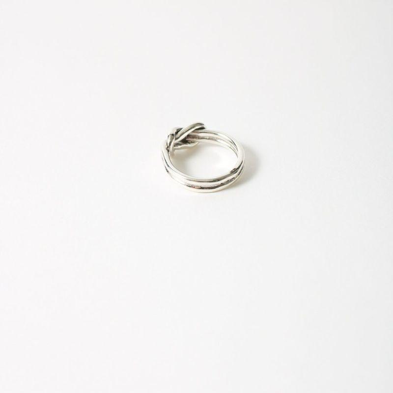 XOLO JEWELRY [ショロジュエリー] KNOT リング ラージ [XOR-11] SILVER