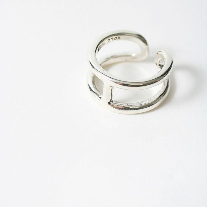 XOLO JEWELRY [ショロジュエリー] H リング [XOR-13] SILVER