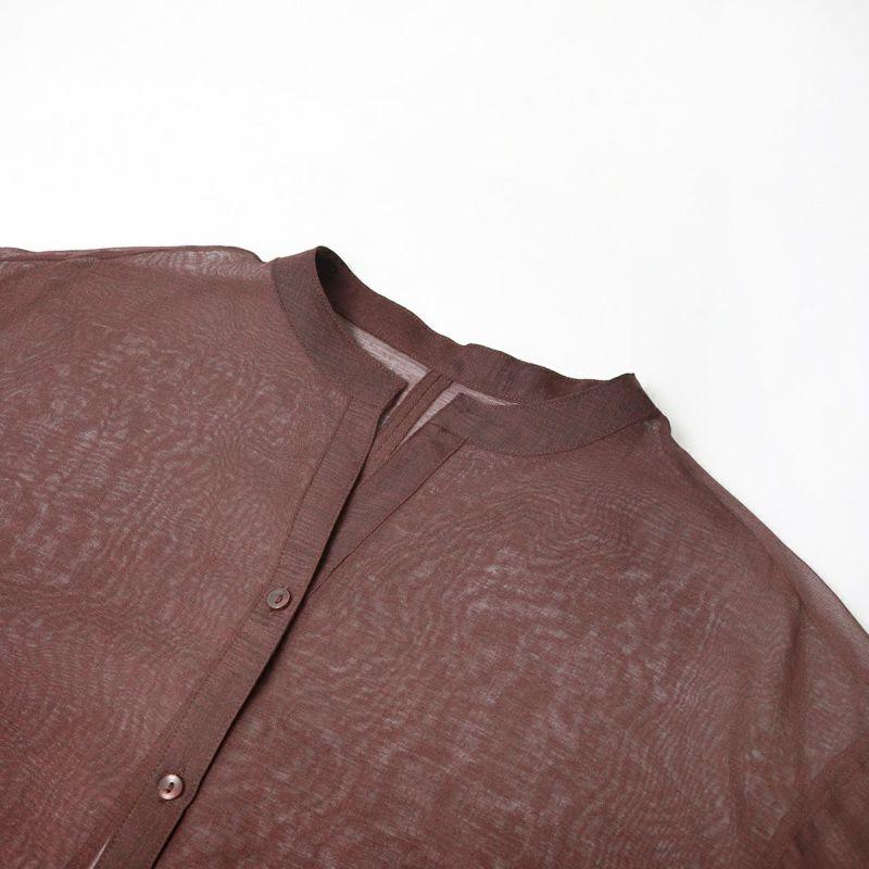 Jf Ready Made [ジェイエフレディメイド] バックリボンシアーシャツ [751505] Dブラウン