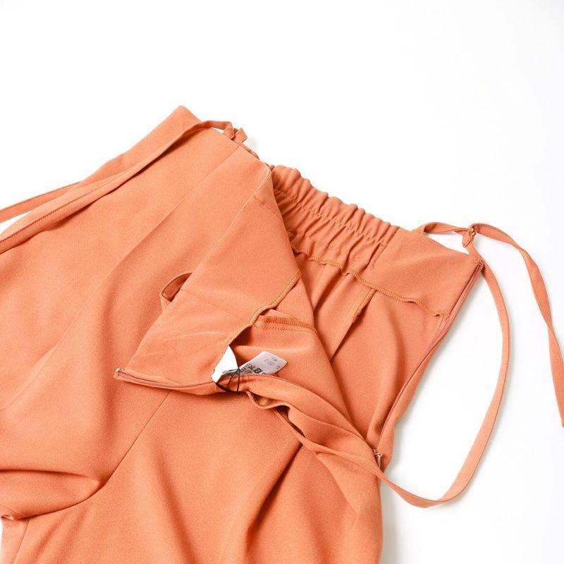 Jf Ready Made [ジェイエフレディメイド] サスペンダー付きタックワイドパンツ [711380] オレンジ