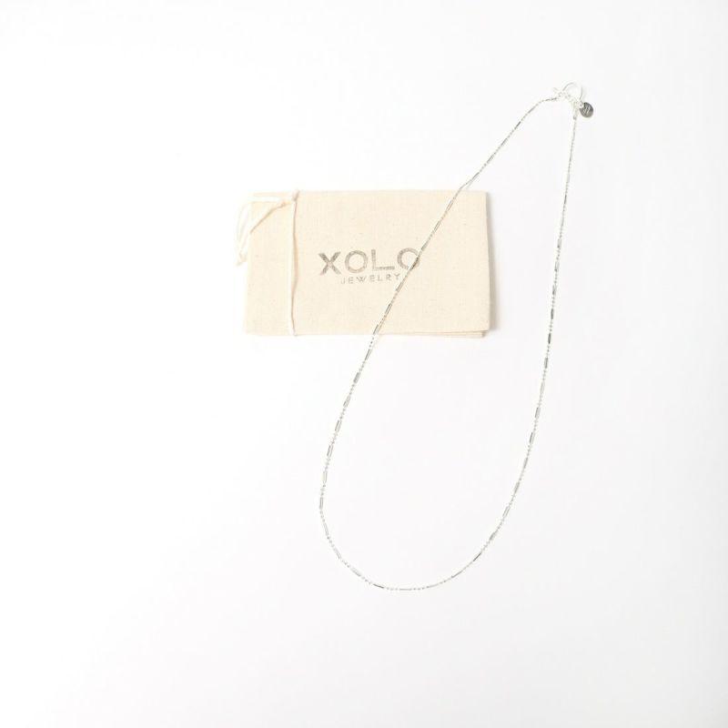XOLO JEWELRY [ショロジュエリー] PIPE LINK ネックレス [XON002-60] SILVER