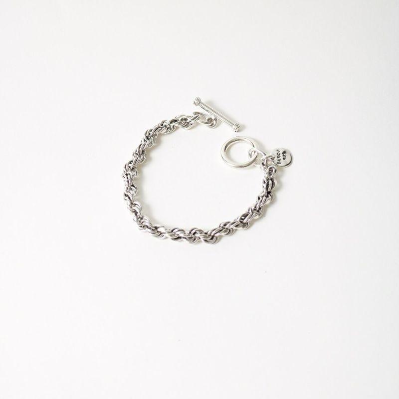 XOLO JEWELRY [ショロジュエリー] TWIST LINK スモール 6mm [XOB043-19] SILVER