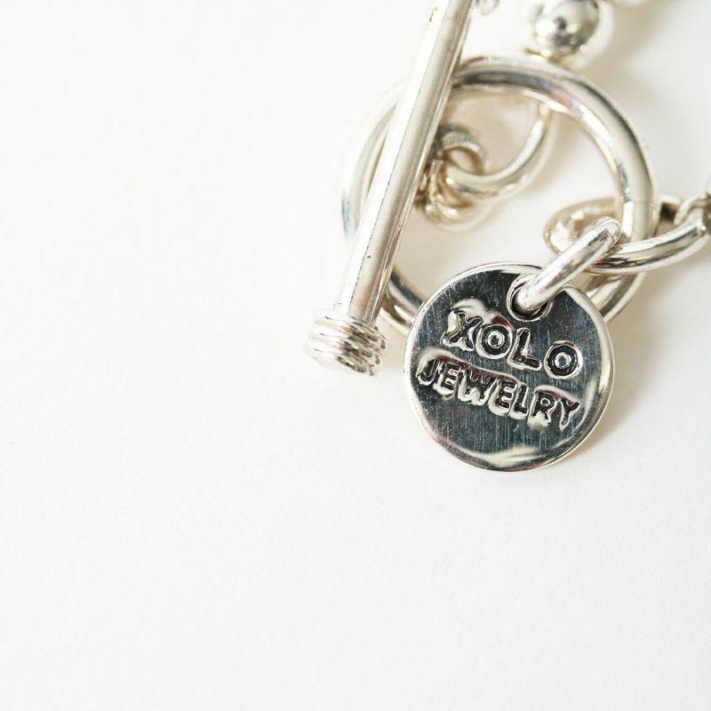 XOLO JEWELRY [ショロジュエリー] SPHERE LINK ブレスレット スモール [XOB032-19] SILVER