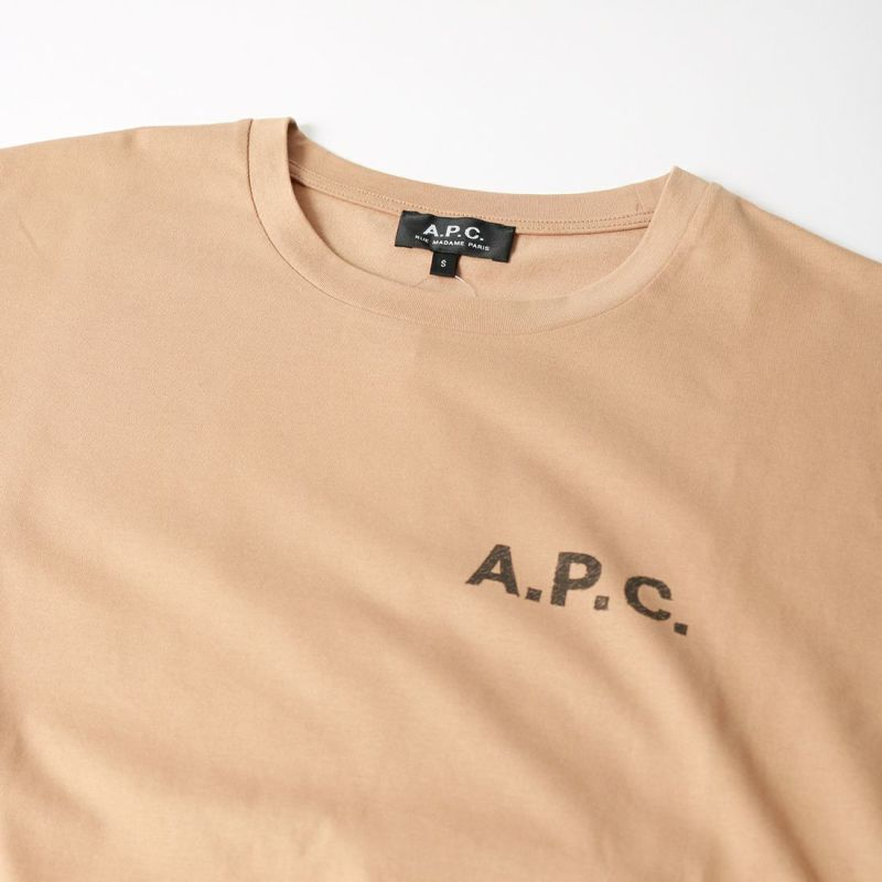 A.P.C. [アー・ペー・セー] JUDY Tシャツ [JUDY] 83 BEIGE