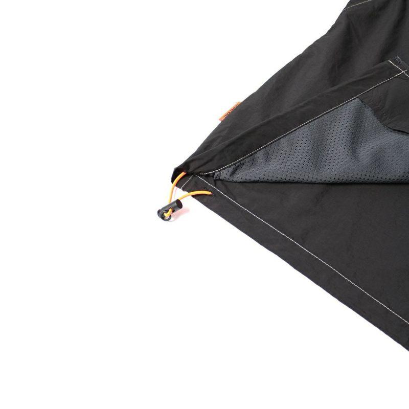 UNIVERSAL OVERALL [ユニバーサルオーバーオール] 別注パッカブルナイロンジャケット [U2112400IN-JF] BLACK
