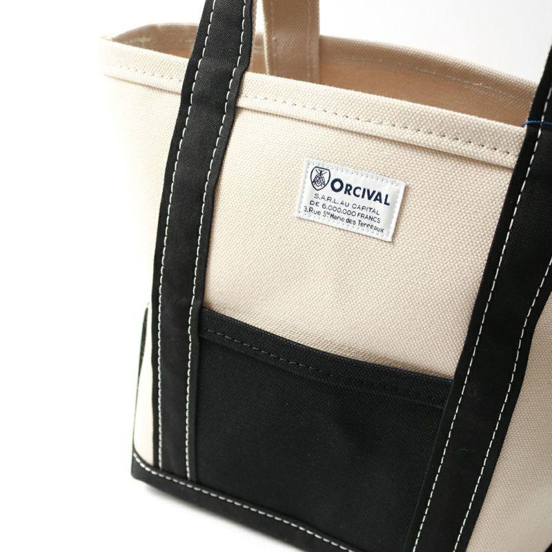 ORCIVAL [オーシバル] 別注 キャンバストートバッグ [RC-7060HVC-JF]  IVORY