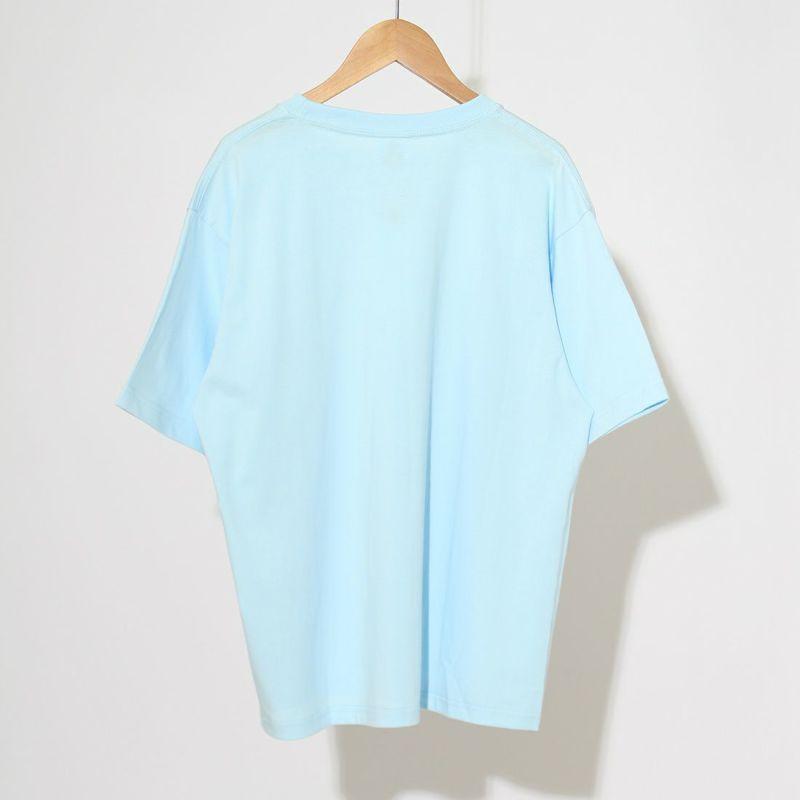 ALLUMER [アリュメール] NEW YORK プリントTシャツ [8246454] 220 SAX