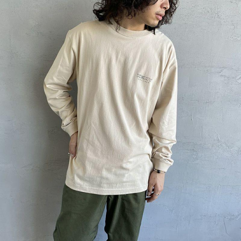 KELTY [ケルティ] 別注 バックビッグロゴプリントTシャツ [KB-212-53002-JF] グリーン