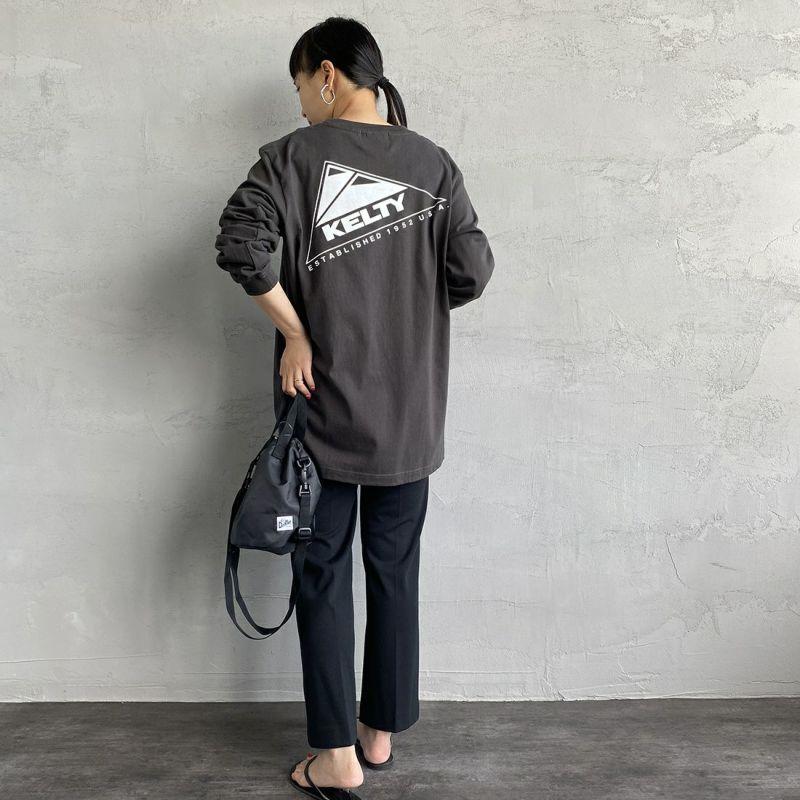KELTY [ケルティ] 別注 バックプリント ビッグロングスリーブTシャツ [KB-212-53002-JF] サンドベージュ