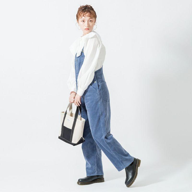 hwyl [ヒュイル] ラッフルカラーシャツ [15285617] 01 オフ &&モデル身長:160cm 着用サイズ:2&&