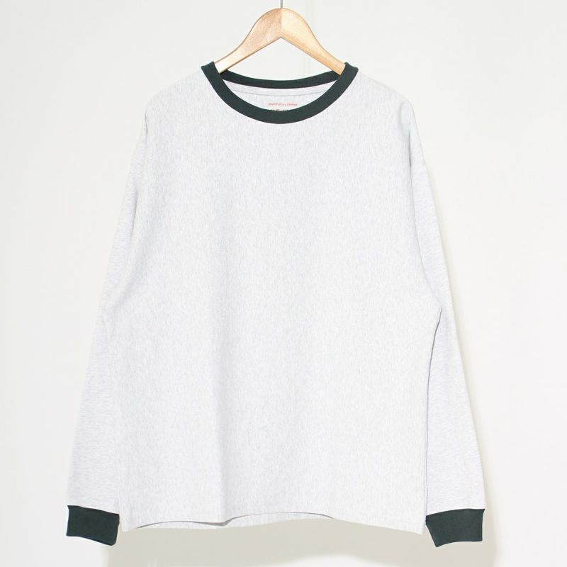 Jeans Factory Clothes [ジーンズファクトリークローズ] ヘビーウエイトTシャツ [2123-424IN] ASH/GRN