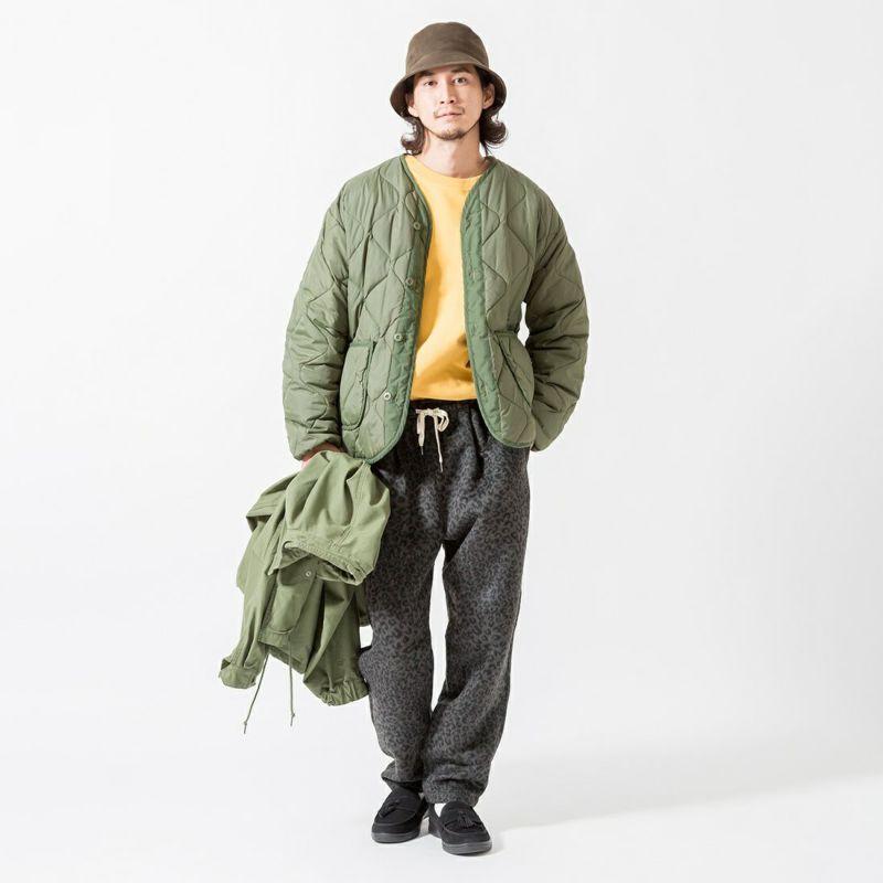 Jeans Factory Clothes [ジーンズファクトリークローズ] ヘビーウエイトTシャツ [2123-424IN] YELLOW &&モデル身長:175cm 着用サイズ:L&&