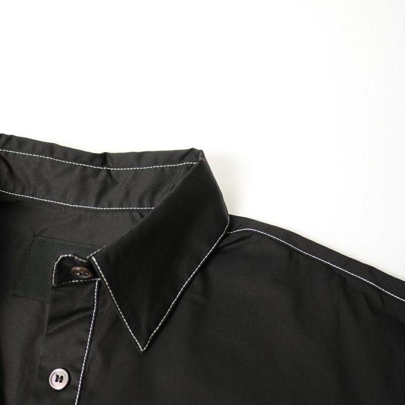 ALLUMER [アリュメール] ワークシャツドレス [8174462] 700 BLACK