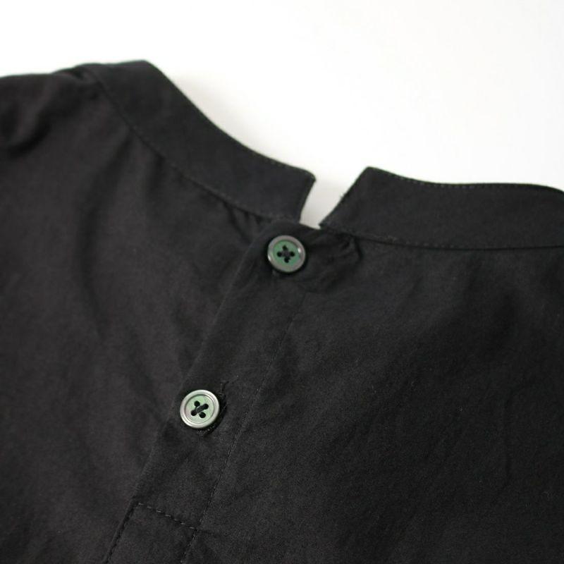 Maison de L'allure [メゾン ドゥ ラリュール] 布帛切替プルオーバー [21132005] 09 BLACK