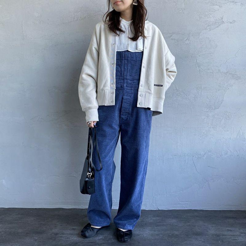 PICCADILLY [ピカデリー] 別注 オーバーオール [PYIN-OA002-JF] BLUE &&モデル身長:160cm 着用サイズ:F&&