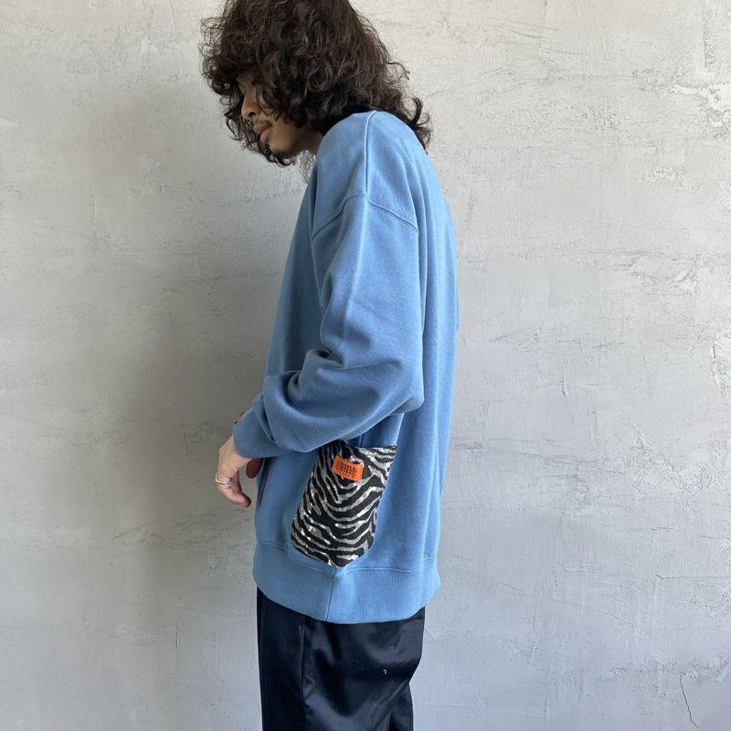 BLUE&&モデル身長:173cm 着用サイズ:XL&&