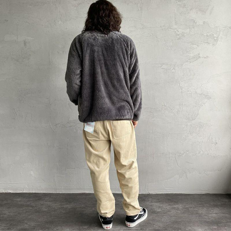 UNIVERSAL OVERALL [ユニバーサルオーバーオール] 別注 シェフパンツ [U2131601IN-JF] IVORY&&モデル身長:173cm 着用サイズ:M&&